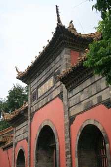 Free Chaotian   Palace   Of  China Royalty Free Stock Photos - 5233998