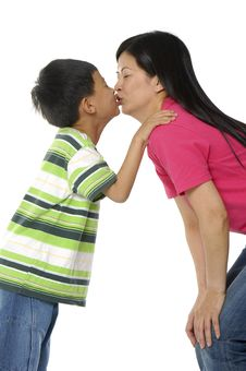 Free Asian Family Stock Photo - 5234230