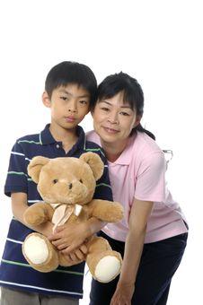 Free Asian Family Stock Photo - 5234400