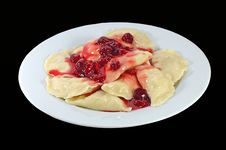 Free Crepe With Jam Royalty Free Stock Photo - 5234585