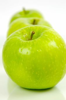 Free Green Apples Stock Photography - 5234972
