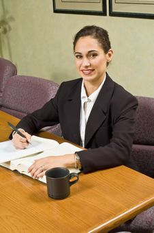 Free Businesswoman Looking Into Camera Stock Image - 5235381
