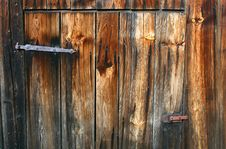 Free Old Wooden Door Royalty Free Stock Photo - 5235515