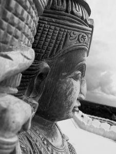 Free Indian Sculpture Royalty Free Stock Photos - 5236108