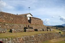 Free Inca Castle Ruins In Chinchero Stock Photography - 5236232