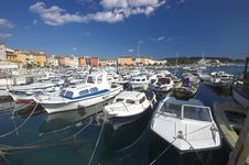 Free City Harbour In Rovinj Royalty Free Stock Image - 5236686