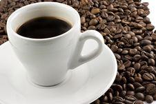 Free Classic White Espresso Cup Stock Photo - 5236960