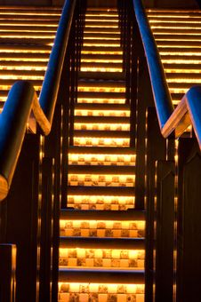 Free Stair Way Royalty Free Stock Photos - 5237008