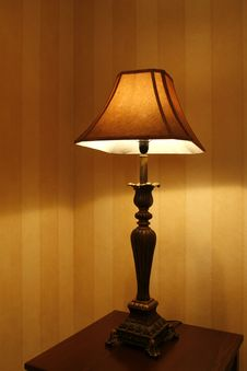 Free Table Lamp Royalty Free Stock Photos - 5237208