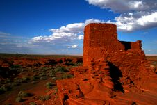 Free Ruins Wide Angle Royalty Free Stock Photos - 5237598