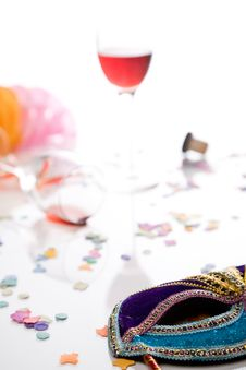 Free Party Is Over Stock Images - 5237774