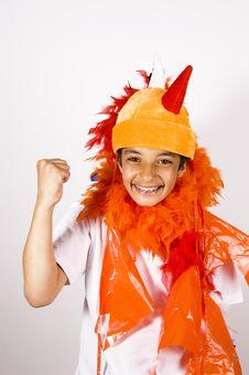 Free Teenage Boy Cheering Royalty Free Stock Photos - 5237928