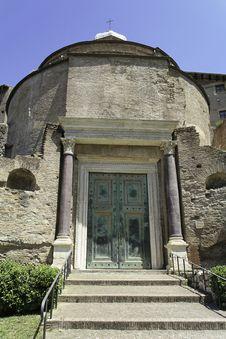 Free Forum Romanum Stock Image - 5238691