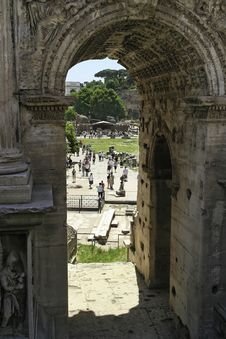 Free Forum Romanum Stock Photos - 5238793