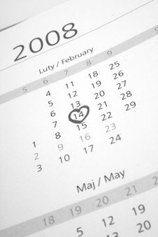 Free Calendar Royalty Free Stock Image - 5239346