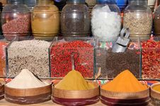 Free Spicy On Eastern Bazaar Royalty Free Stock Image - 5239366