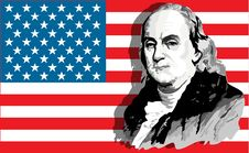 Free Benjamin Franklin Portrait Stock Photography - 5239582