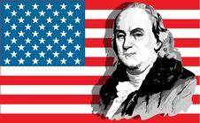 Free Benjamin Franklin Portrait Stock Photography - 5239582