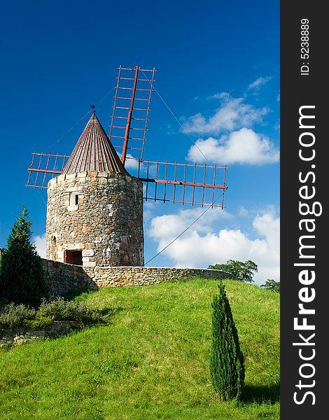 Wind mill in German