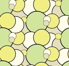 Seamless Pattern Doodle Circles For Your Creativity Royalty Free Stock Photos