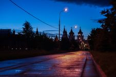 Free Twilight Outskirts Of The City Stock Images - 52385714