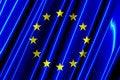 Free European Union Plastic Flag Stock Photos - 5240223