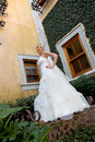 Free Courtyard Bride Royalty Free Stock Photos - 5245248