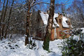 Free House In The Snow Royalty Free Stock Image - 5247116