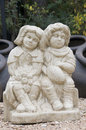 Free Statue Of Boy And Girl Royalty Free Stock Photo - 5249275
