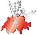 Free Swiss Army Knife Stock Image - 5249681