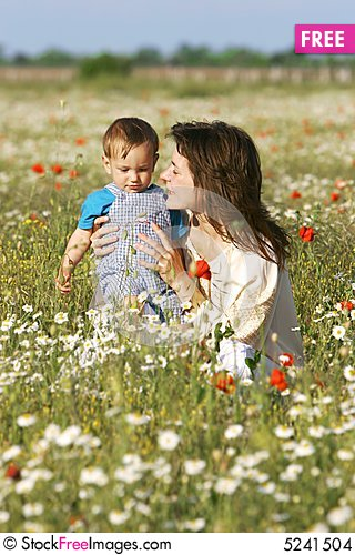Free Mother And Son Stock Images - 5241504