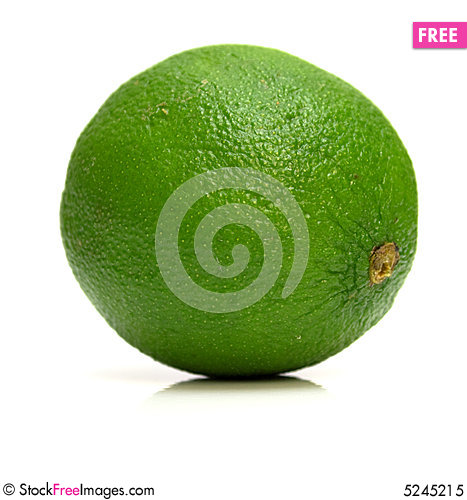 Free Ripe Lime Royalty Free Stock Photo - 5245215