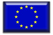 Free European Union Square Icon Royalty Free Stock Photo - 5240205