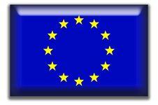 European Union Square Icon Royalty Free Stock Photo