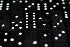 Free Dominoes Royalty Free Stock Photography - 5240507