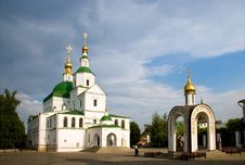 Free History St. Daniel Monastery, Moscow Stock Photography - 5240602