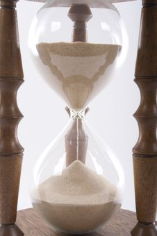 Free Hourglass Detail Stock Images - 5240844