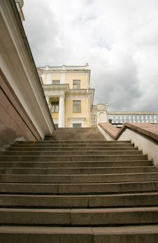 Free Big Staircases In Moscow Park Stock Photo - 5241160