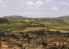Free Tuscany Countryside Stock Photography - 5241262