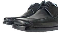 Free Black Shoes Royalty Free Stock Photos - 5242008