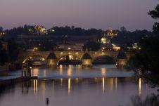 Free Charles Bridge In Prague Stock Photography - 5242202