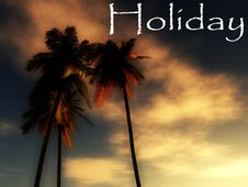 Free Holiday Wild Palms 16 Royalty Free Stock Photos - 5242588