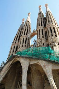 Free Sagrada Familia, Barcelona Royalty Free Stock Photo - 5242655