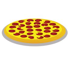 Free Pepperoni Pizza Royalty Free Stock Photo - 5242955