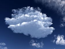 Free White Cloud 52 Stock Photography - 5242992
