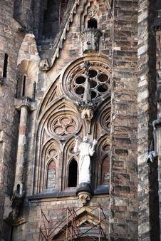 Free Sagrada Familia, Detailed View Stock Photography - 5243092