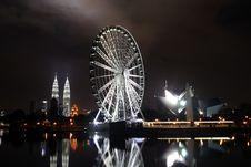 Eyes Of Malaysia Stock Photography
