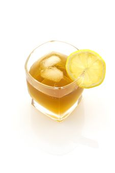 Free Glass Of Ice Tea, Isolated Stock Images - 5244164