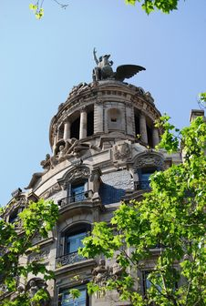 Free Art Nouveau, Barcelona Royalty Free Stock Photo - 5244415