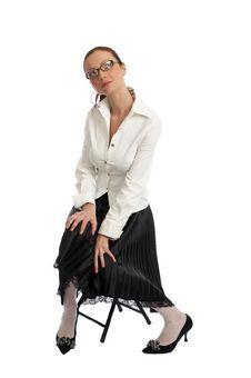 Free Girl Posing Stock Photography - 5244502